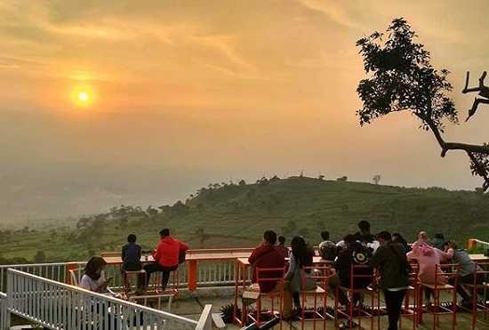 sunset de kendor hambalang bogor