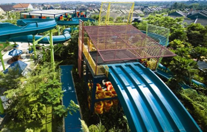 tower slide the jungle bogor