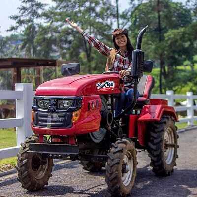 tracktor tour de farm cimory dairyland puncak bogor