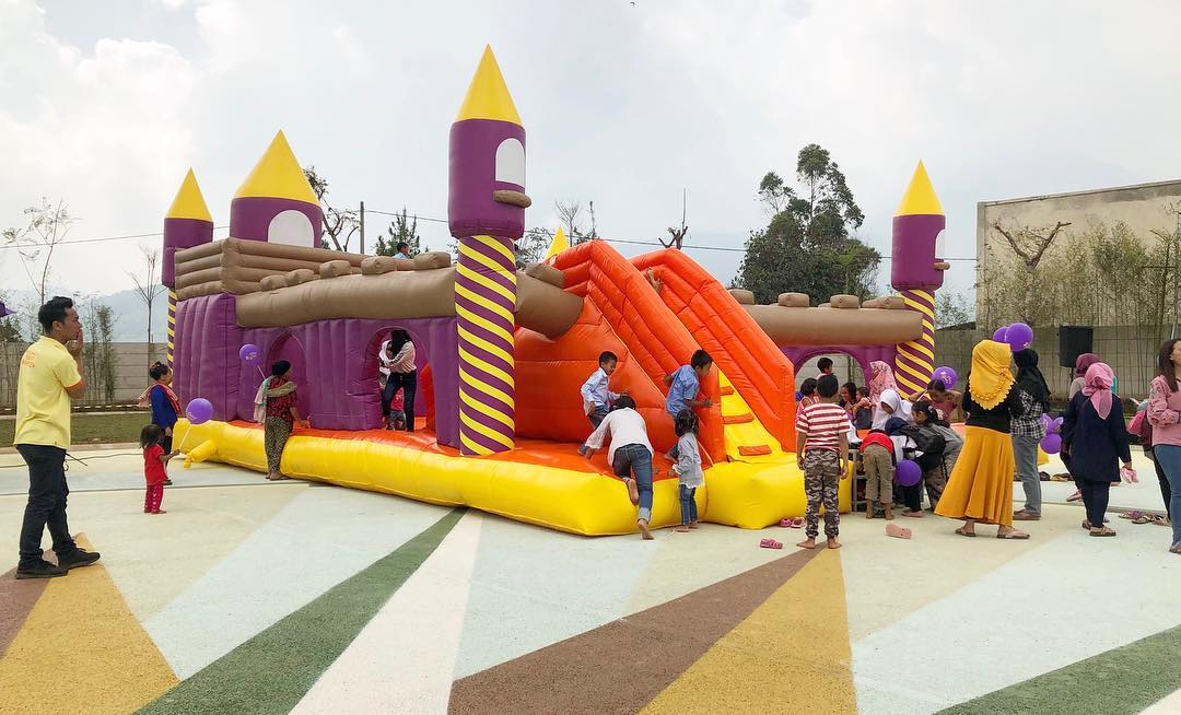 wahana permainan untuk anak-anak di fairy garden