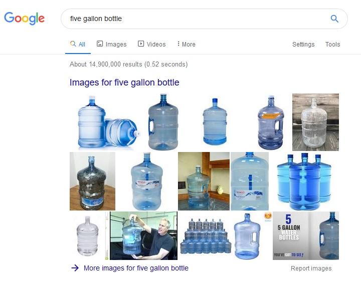 1 galon air