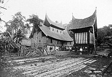 Gambar rumah gadang masa lalu