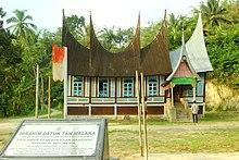 Rumah tradisional Sumatera barat