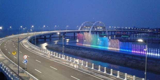 Jembatan Biru Kenjeran Surabaya