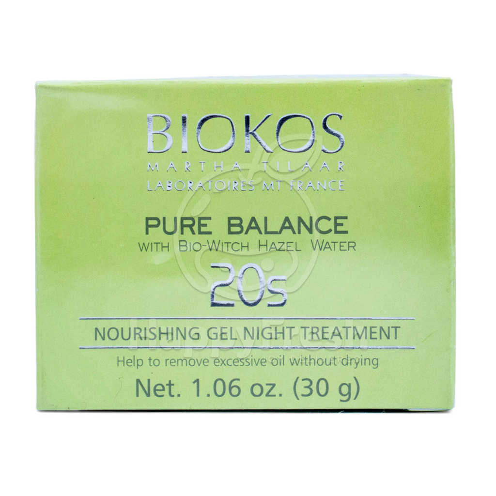 Biokos Pure Balance Nourishing Gel Night Treatment
