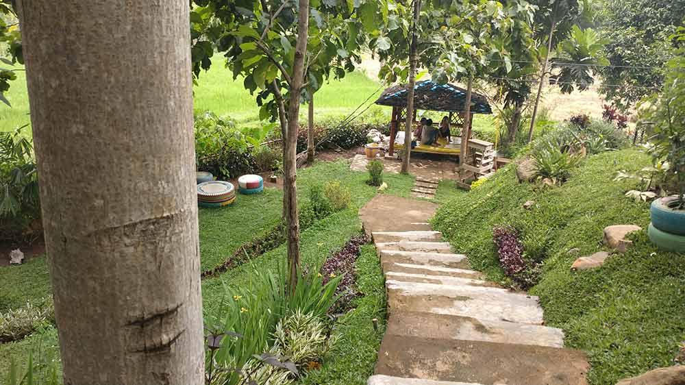 Suasana Bukit Dhoho Indah kediri