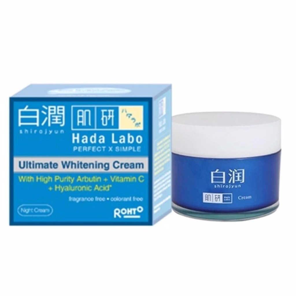 Hada Labo Shirojyun Ultimate Whitening Cream
