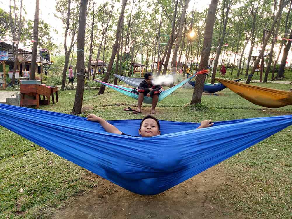 Salah satu spot wisata di Bukit Dhoho Indah Kediri