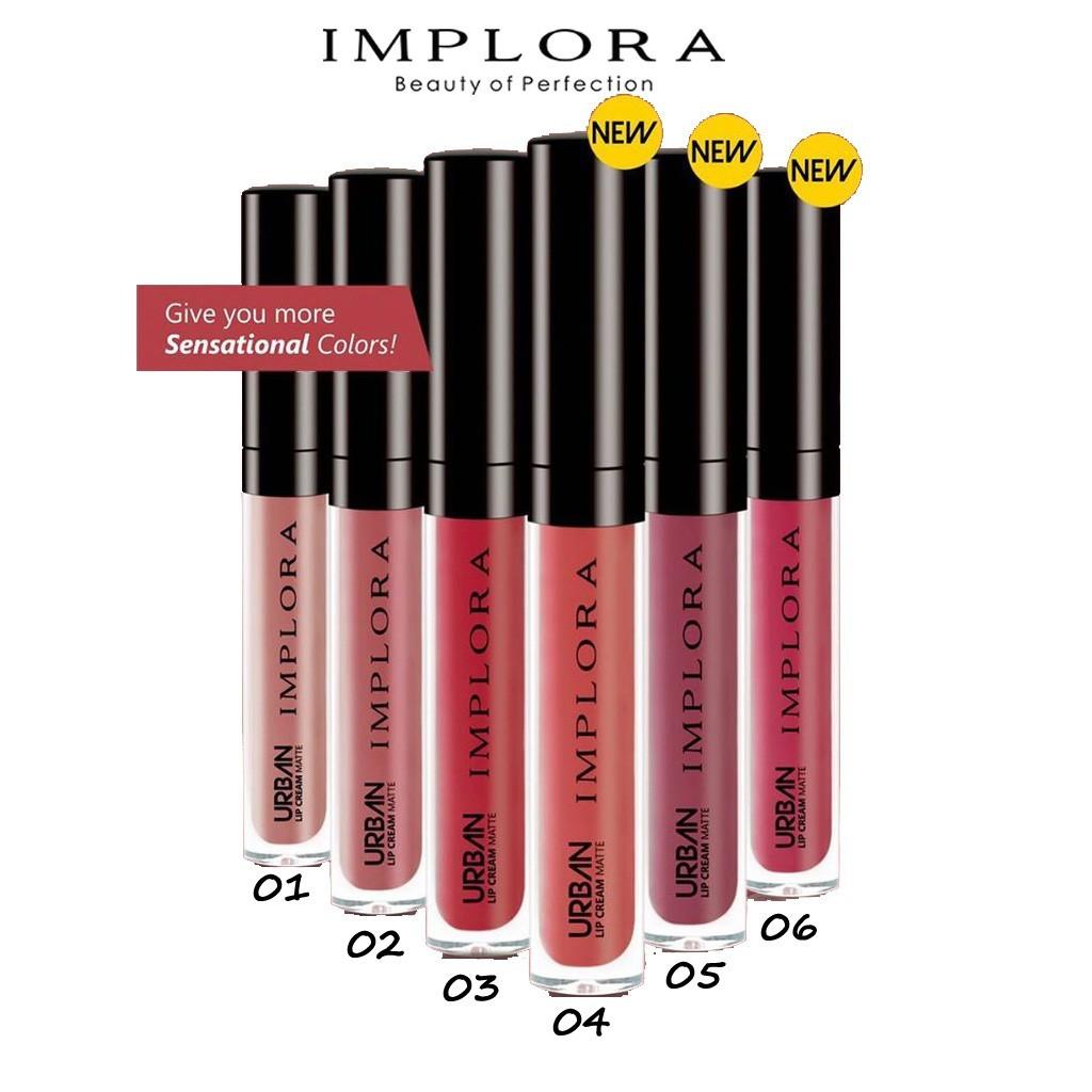 Implora Urban Lip Cream Matte 1