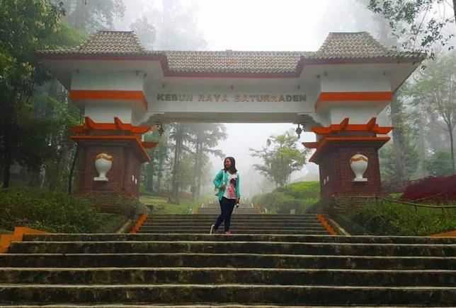 Kebun Raya Baturaden Purwokerto