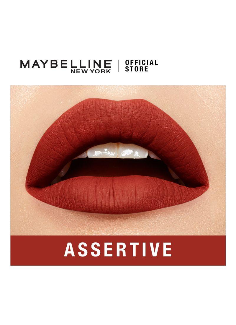 Maybelline Superstay Matte Ink Assertive 205