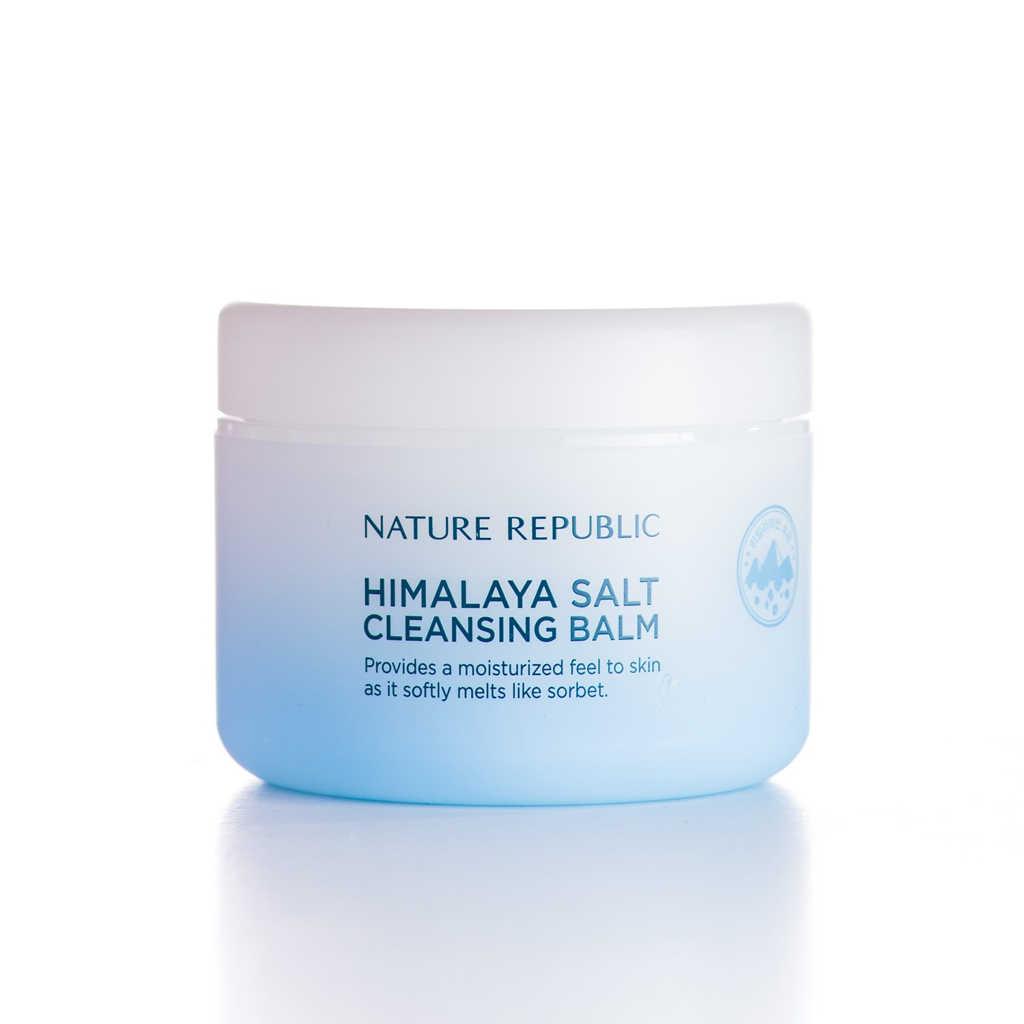 Nature Republic Himalaya Salt Cleansing Balm White Salt