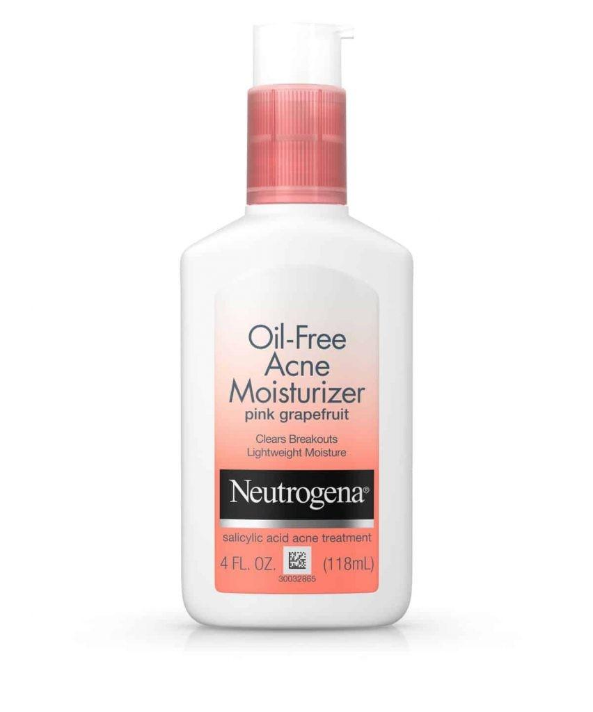 Neutrogena Oil Free Acne Moisturizer Pink Grapefruit