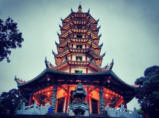 Pagoda Avolokitesvara Budhagaya Watugong