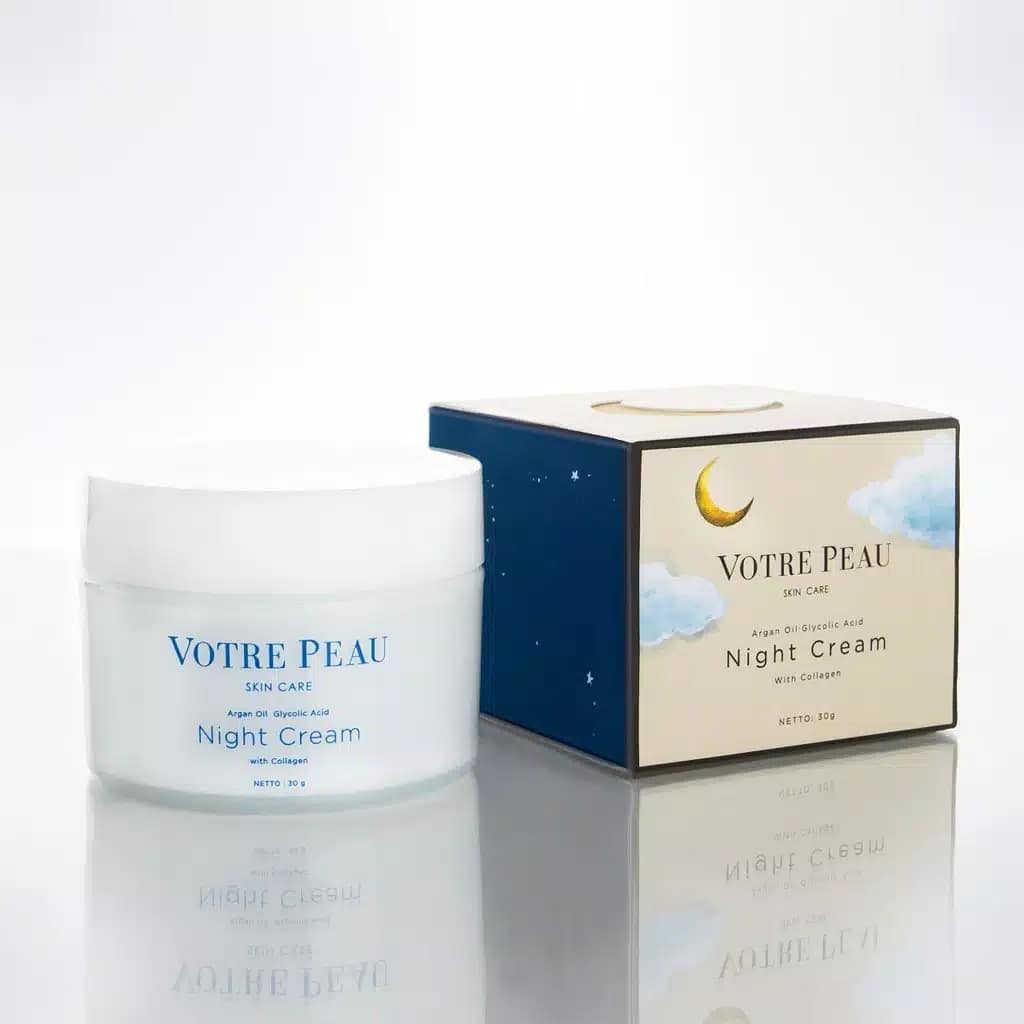 Votre Peau Night Cream With Collagen