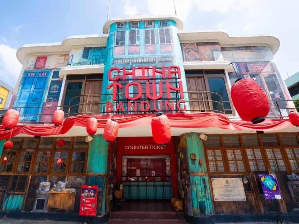 Tempat wisata dekat stasiun bandung china town