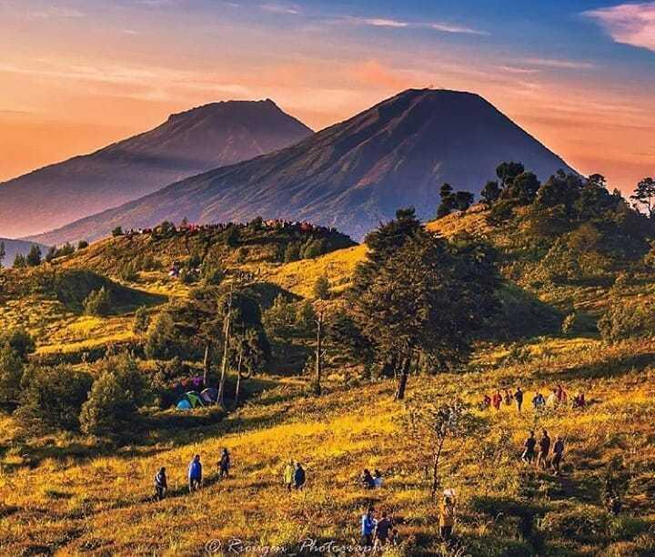 gunung prau wonosobo
