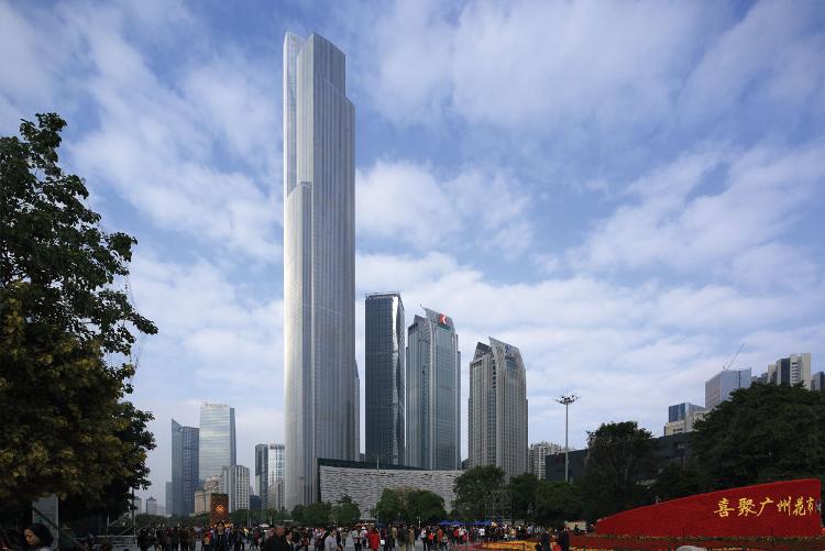 Guangzhou CTF Finance Center, Guangzhou