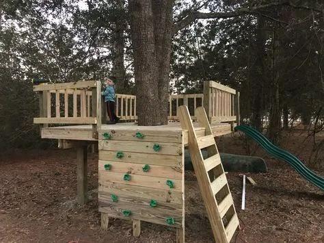 Desain Rumah Pohon Sederhana