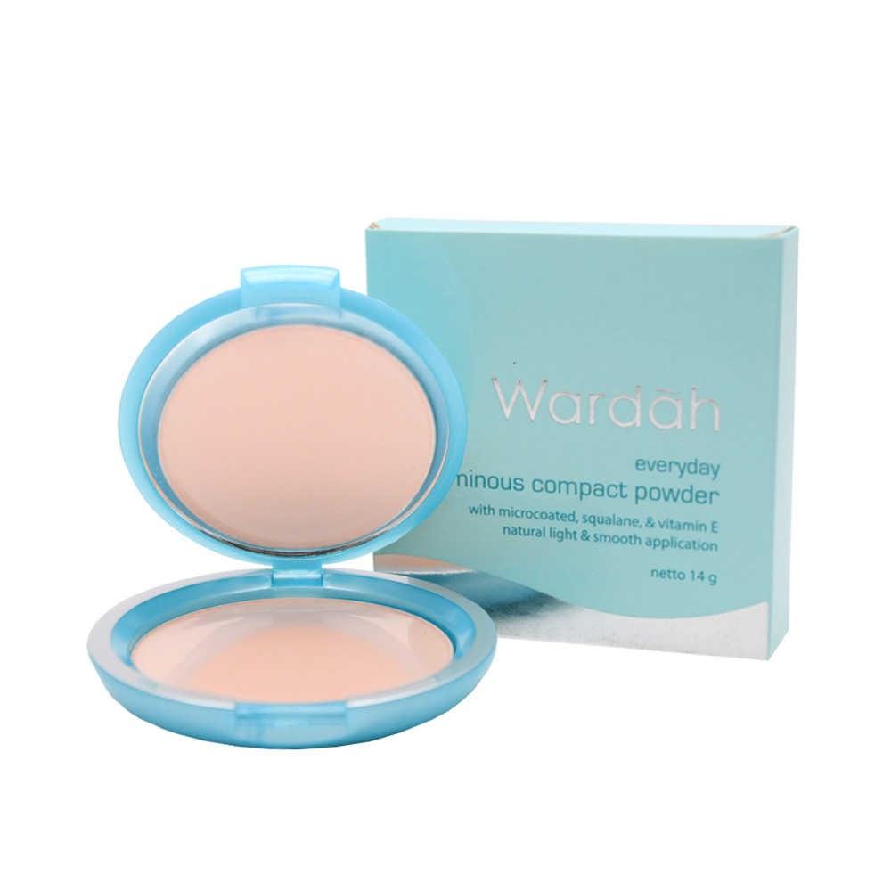 Wardah Everyday Luminous Compact Powder - Bedak Wardah Untuk Kulit Berminyak