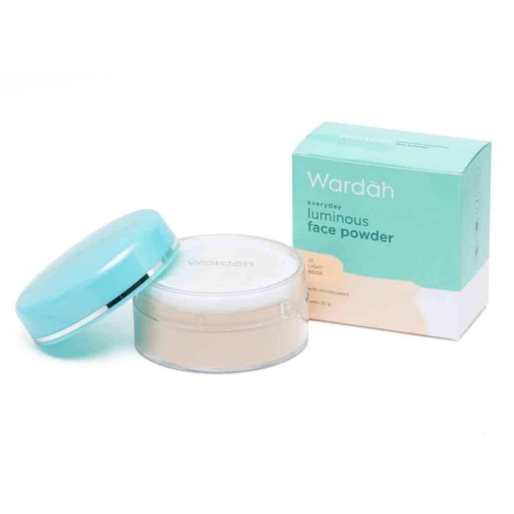 Wardah Everyday Luminous Face Powder - Bedak Wardah Untuk Kulit Berminyak