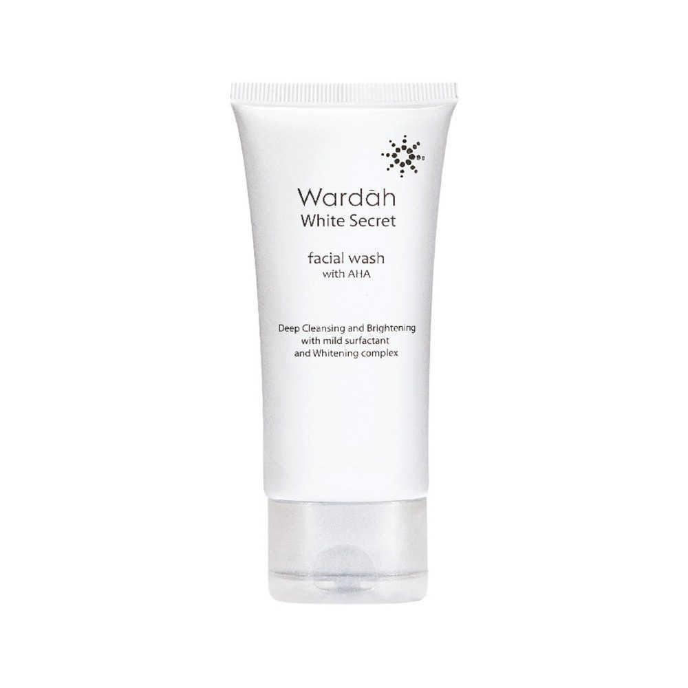 Wardah White Secret Facial Wash with AHA