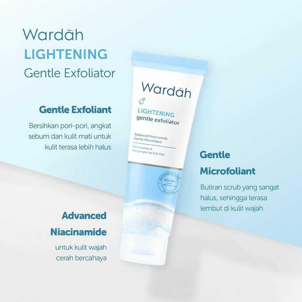 Wardah Lightening Gentle Exfoliator