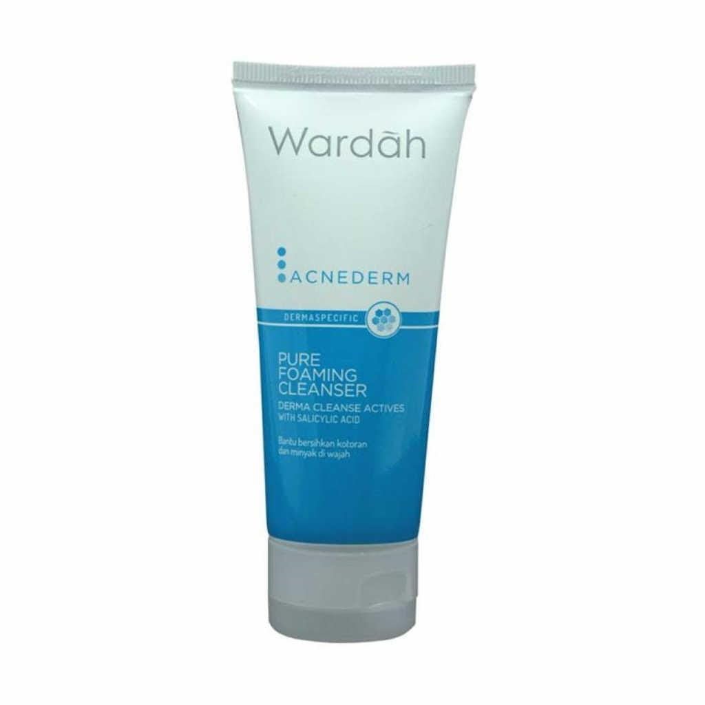 Wardah Acnederm Pure Foaming Cleanser