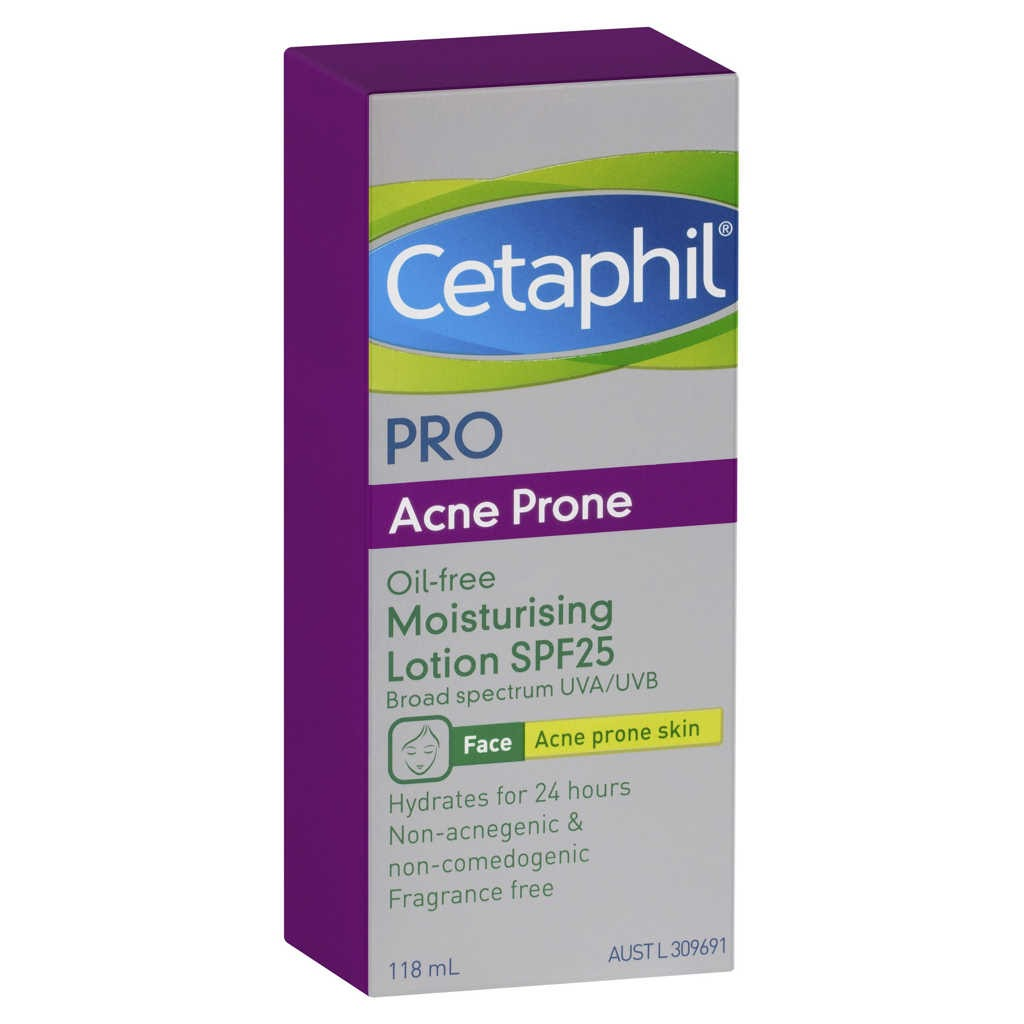 Cetaphil Pro Acne Prone Oil Free Moisturising Lotion