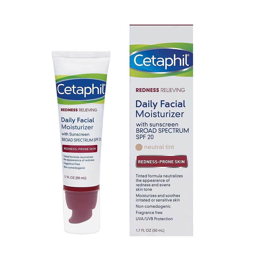 Cetaphil Redness Relieving Daily Facial Moisturizer Untuk Jerawat