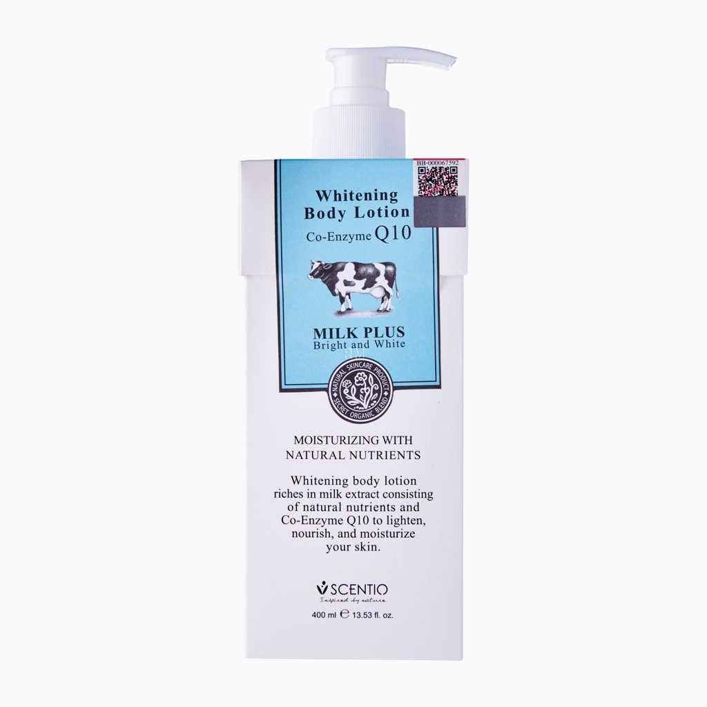 Scentio Whitening Milk Lotion Co-Enzyme Q10