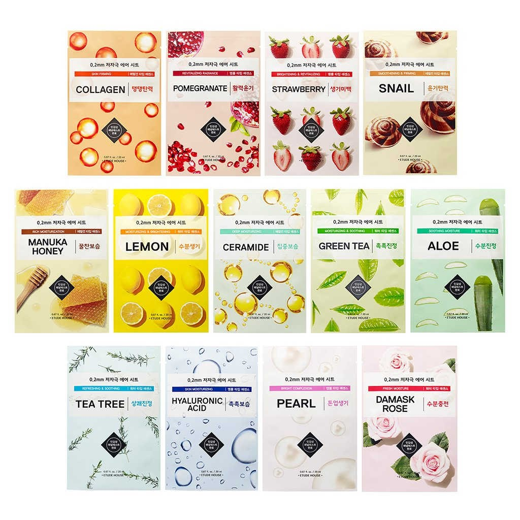 Etude House 0.2mm Therapy Air Mask Sheet