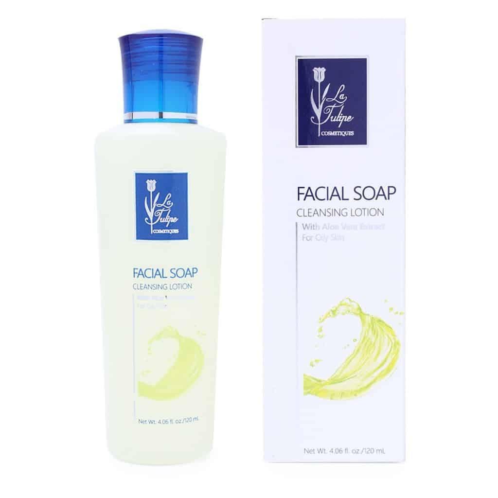 La Tulipe Facial Soap Cleansing Lotion
