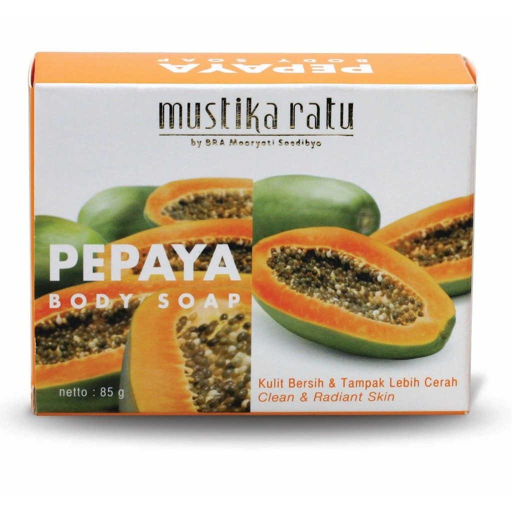 Mustika Ratu Papaya Body Soap