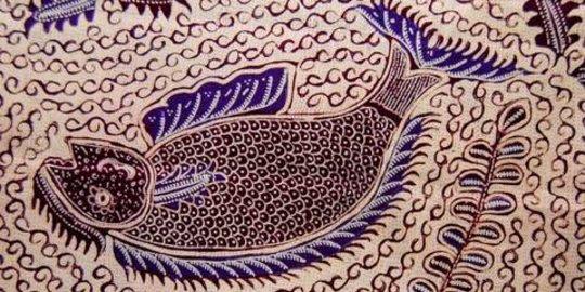 contoh gambar batik yang mudah