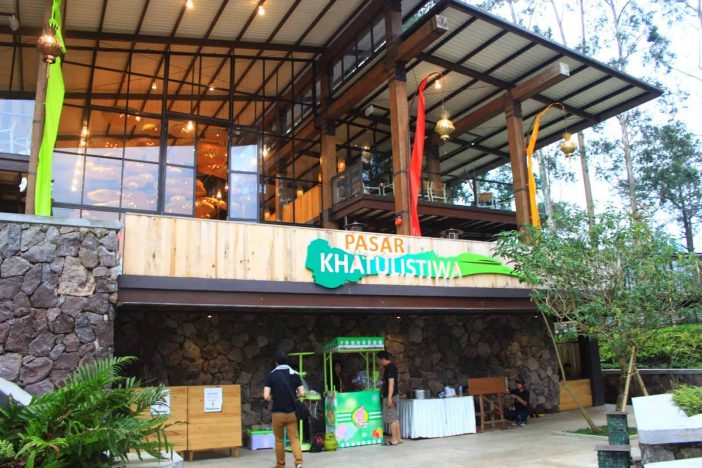 pasar khatulistiwa dusun bambu lembang