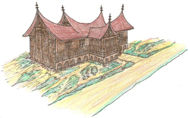 Keunikan rumah gadang sumbar