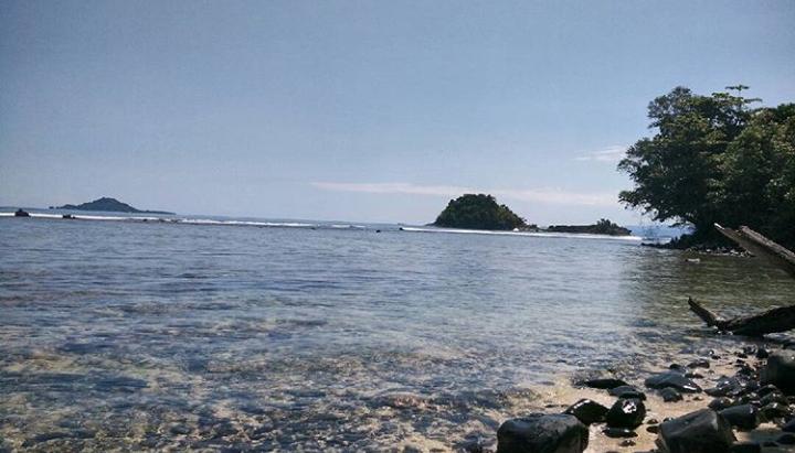 Pulau keong di sumbar