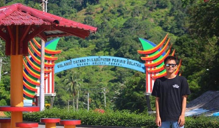 Perbatasan Padang dengan Painan