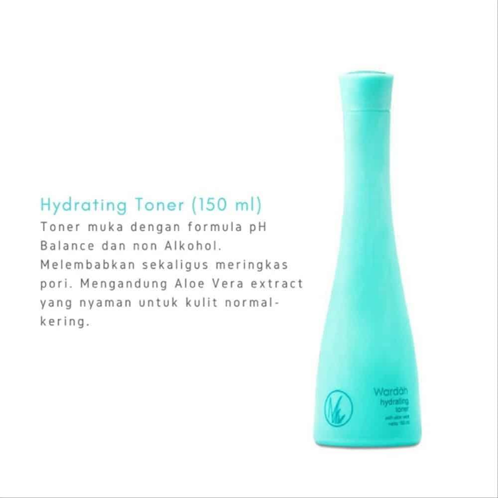 wardah hydrating toner