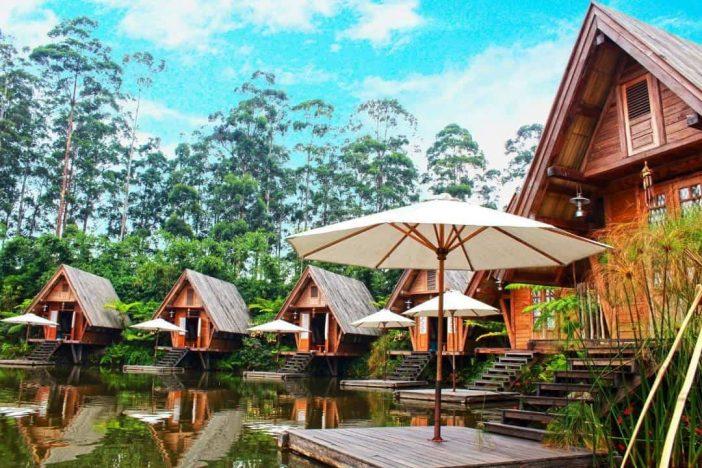 cafe burangrang dusun bambu lembang