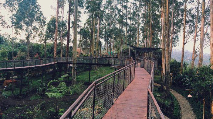 jembatan lutung kasarung dusun bambu lembang