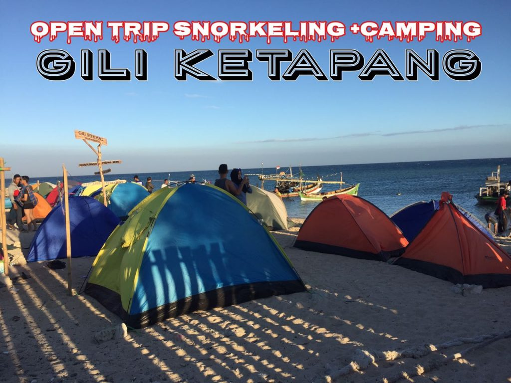 Camping di Gili Ketapang