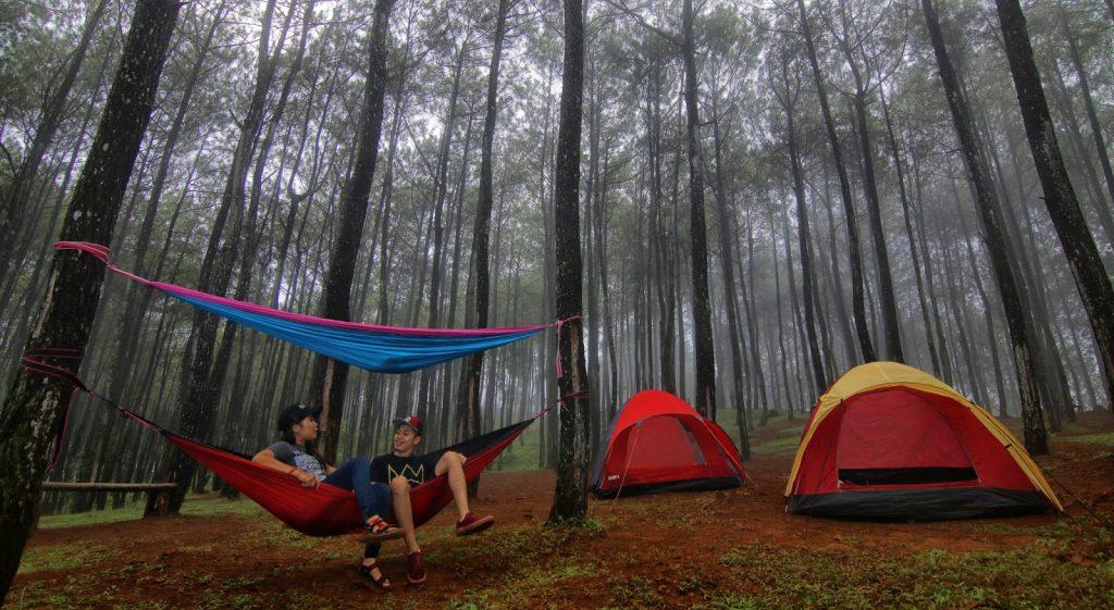 Area Camping di Kebun Buah Mangunan