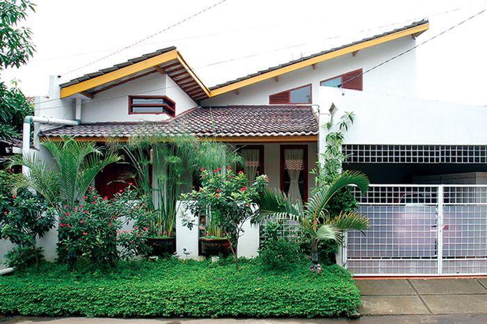 rumah atap miring