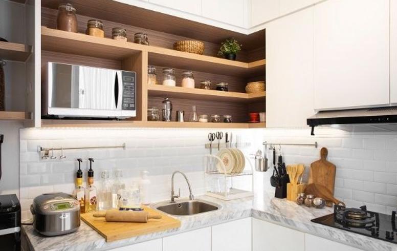 desain tempat cuci piring dan kompor