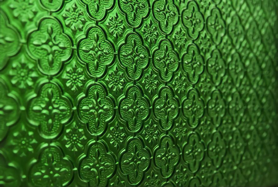 patterned glass
