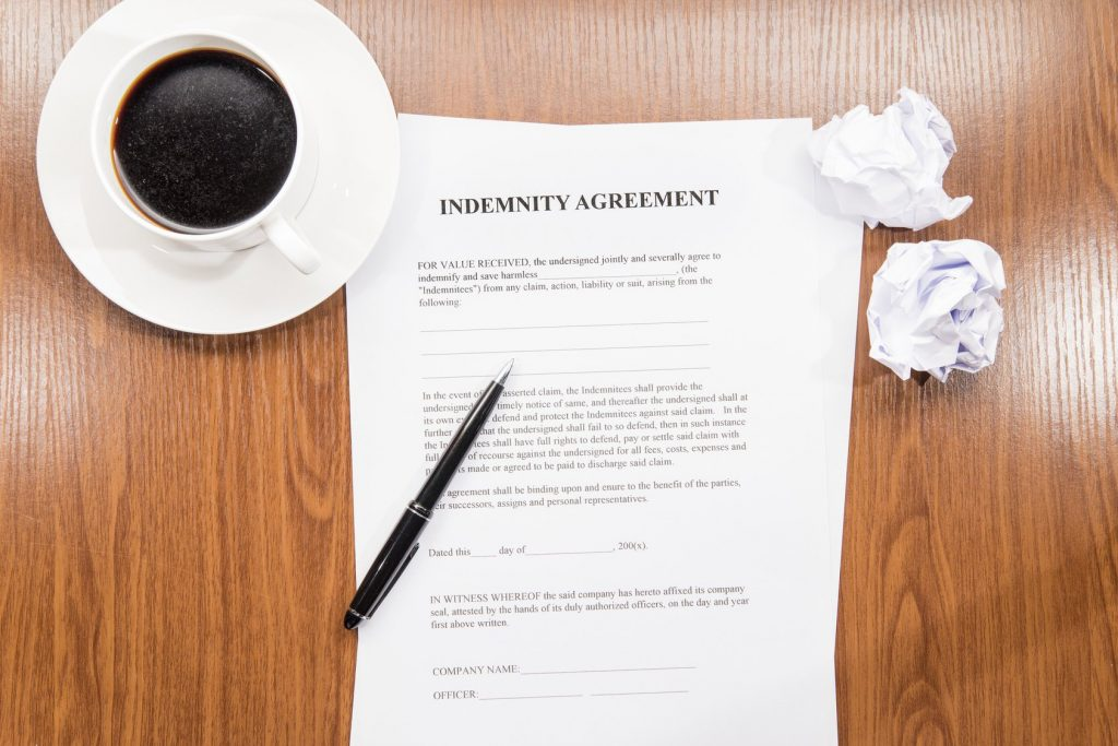 Indemnity Value