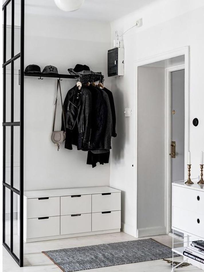 open closet minimalis