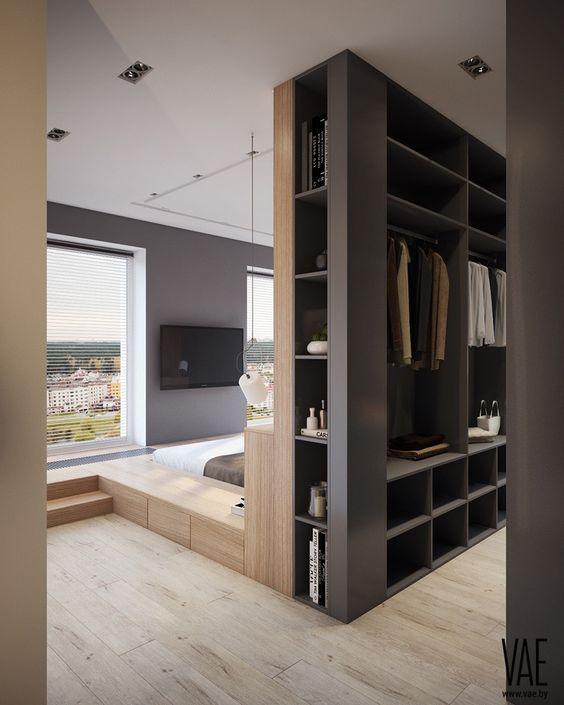 Open closet multifungsi